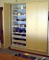 Ezyfold Bi Fold Door Hardware Pantry Cabinet